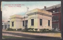 104894/ CHARLEROI, Exposition 1911, Pavillon De La Presse - Charleroi
