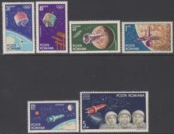 ROUMANIE 1965 6 TP Navigation Spatiale N° 2092 à 2097 Y&T Neuf ** - 1948-.... Republiken