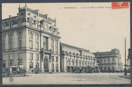 CPA [33] - BORDEAUX, La Gare Du Midi Et L'Hôtel - Bordeaux