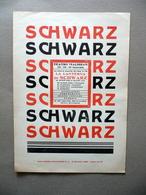 Foglio Volante Teatro Malibran Rivista Lanterna Di Schwarz Spettacolo Anni '40 - Vecchi Documenti