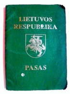 Passport Lithuania 1992 - Documents Historiques