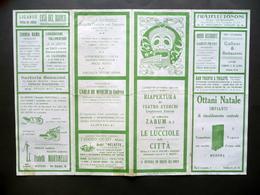 Programma Teatro Storchi Modena Riapertura Compagnia Zabum N. 8 Le Lucciole 1931 - Vecchi Documenti