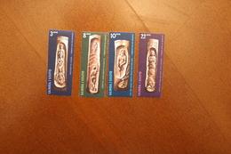 Samoa 348-351 Carvings MNH  WYSIWY A04s - Samoa