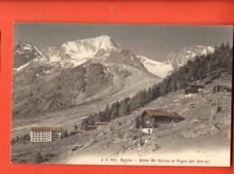 TSN-22 Arolla Hotel Mont-Collon Et Pigne , Chalets D'Alpage. Non Circulé - VS Wallis