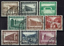 DR 1936 // Mi. 634/642 O - Deutschland