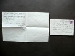 Autografo Arturo Loria Firenze 21/11/1955 Zampighi Adriano Olivetti Letteratura - Autografi