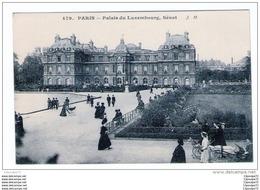 C.P.A  DE  PARIS  --- PALAIS  DU  LUXEMBOURT  , SENAT ..  . - Paris (06)
