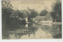 WISSANT PLAGE - HERLEN - Ancien Château - Vieux Moulin Hydraulique Et La Rivière Alimentant Le Moulin - Wissant