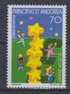 Europa Cept 2000 Andorra Sp 1v ** Mnh (43471) - 2000