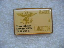 Pin's De La Brasserie à L'aigle D'or à BISCHHEIM (Dépt 67) - Beverages