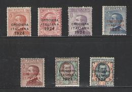 Italia Nº 156/62. Año 1924 - 1900-44 Victor Emmanuel III
