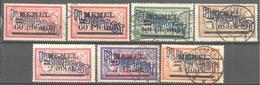 Memel: Yvert N° A 1/7°;  Cote 162.00€ - Memel (1920-1924)
