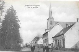 Brasschaet-Polygone NA20: Zicht In 't Dorp 1910 ( Tramway à Vapeur ) - Brasschaat