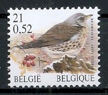 BELGIE * Buzin * Nr 2987 * Postfris Xx * WIT  PAPIER - 1985-.. Birds (Buzin)