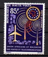 Col15  Haute Volta 1963 PA  N° 9  Neuf X MH Cote : 2€ - Haute-Volta (1958-1984)