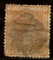 España Edifil 165 (º)  20 Céntimos Naranja  Alfonso XII   1875   NL1450 - Usados