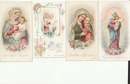 4 MOOIE OUDE HEILIGE PRENTJES - Religione & Esoterismo