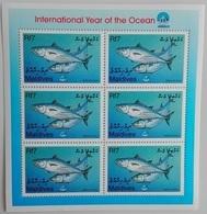 Maldives 1999**Mi.3160 Fishes , MNH [5;53] - Fische