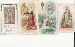 4 ZEER OUDE ZELDZAMERE PRENTJES - Religione & Esoterismo