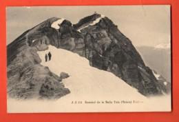 TSN-42 Val D'Anniviers. Sommet De La Bella Tola, Alpinistes. Jullien 151 Précurseur. Circulé 1905 Vers France - VS Valais