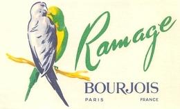 Carte Parfumée Ramage Bourgeois - Cartes Parfumées