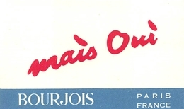 Carte Parfumée Mais Oui Bourgeois - Cartes Parfumées