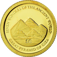 Monnaie, Îles Salomon, Elizabeth II, Pyramides De Giseh, 5 Dollars, 2011, B.H. - Salomonen