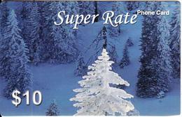 AUSTRALIA - Super Rate Prepaid Card $10, Used - Australia