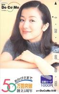 FEMME - WOMAN - GIRL -Télécarte Japon - Characters