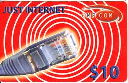 AUSTRALIA - Empcom Internet Prepaid Card $10, Used - Australia