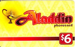 AUSTRALIA - Alladin Prepaid Card $6, Used - Australia