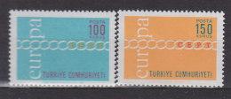 EUROPA CEPT: TÜRKEI 2210-2211, Postfrisch **, Kette 1971 - Europa-CEPT