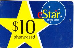 AUSTRALIA - EStar Prepaid Card $10, Used - Australia