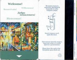 Rusland Welcome!  Www.artrussia.com--2508--Hotel--key Card, Room Key, Schlusselkarte, Hotelkart - Hotel Keycards