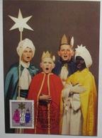 Weihnachten Heilige Drei Könige Sternsinger Maximumkarte 1983 (15500) - Cristianesimo