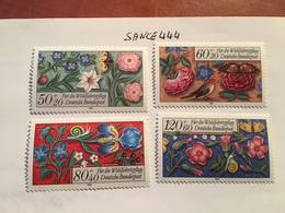 Germany Welfare Miniatures 1985 Mnh - [7] Federal Republic