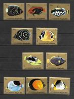 Fujeira 1972 Fishes MNH (R0370) - Fudschaira