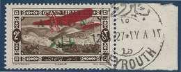 France Colonies Grand Liban Non émis N°9A(Maury 2009) Avec Cachet Beyrouth Pour Présentation Aux Officiels - Great Lebanon (1924-1945)