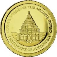 Monnaie, Îles Salomon, Elizabeth II, Le Phare D'Alexandrie, 5 Dollars, 2011 - Islas Salomón