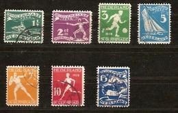 Pays-Bas Nederland 1928 Yvertn° 199-205 (°) Oblitéré Used Cote 26 Euro Sport - Period 1891-1948 (Wilhelmina)
