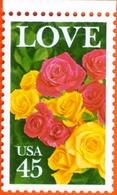USA #2379   LOVE -   ROSES  1988   -  MINT - Etats-Unis
