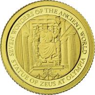 Monnaie, Îles Salomon, Elizabeth II, Statue De Zeus, 5 Dollars, 2011, B.H. - Salomon