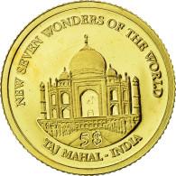 Monnaie, Îles Salomon, Elizabeth II, Taj Mahal, 5 Dollars, 2011, B.H. Mayer - Salomon
