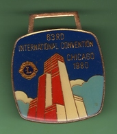 LIONS CLUB *** CHICAGO 1980 *** 1028 - Associations