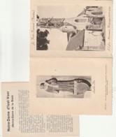 **  29  ***  LA FORET FOUESNANT  L'église -  Carte Avec Livret Double Volet - TTBE - Fouesnant