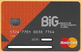 CREDIT / DEBIT CARD - BANCO DE INVESTIMENTO GLOBAL 001 (PORTUGAL) - Cartes De Crédit (expiration Min. 10 Ans)