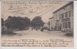 57 KLEIN HETTINGEN   Petite Hettange Commune De MALLING  Retauration BRAUN - Sonstige Gemeinden