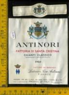 Etichetta Vino Liquore Chianti C. 1966 Fatt. Dei Marchesi-S. Casciasno FI - Etiketten