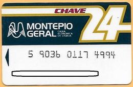 CREDIT / DEBIT CARD - MONTEPIO GERAL 014 (PORTUGAL) - Cartes De Crédit (expiration Min. 10 Ans)