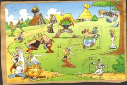 Asterix Und Obelix Block 80 Gestempelt Auf Briefstück - [7] République Fédérale